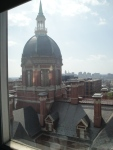 Hopkins view from room 833.